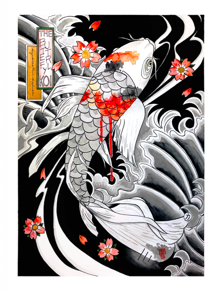 The Butterfly Koi