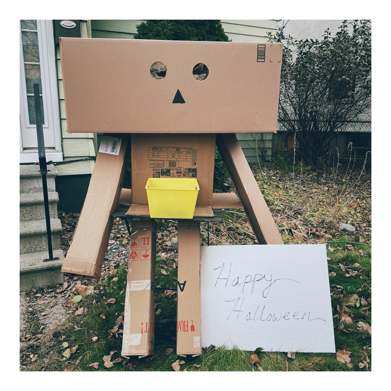 Danboard with candy